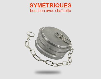 Bouchons symétrique, Guillemin, pompier