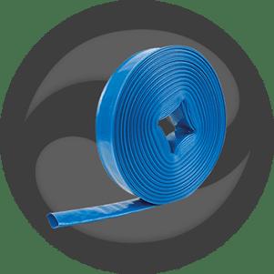 Tuyau Clar'Flat Bleu - Refoulement d'eau