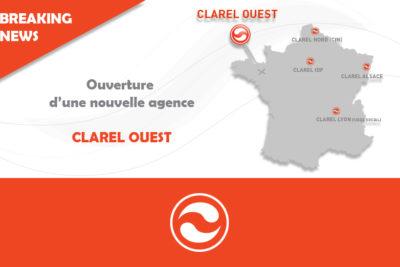 Nouvelle agence : CLAREL OUEST