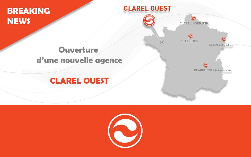 Ouverture de l'agence Clarel Ouest