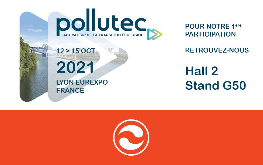 Nous serons présents à POLLUTEC 2021